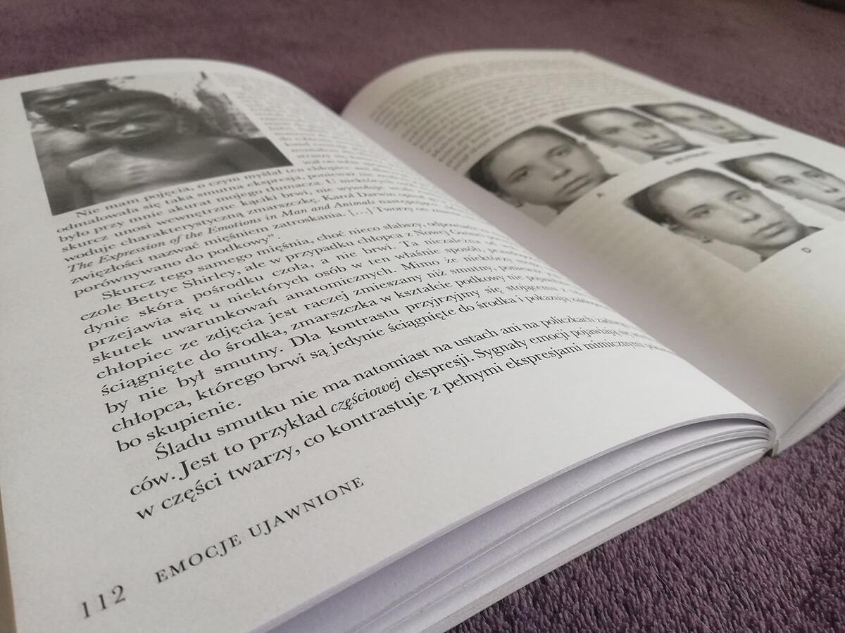 emocje ujawnione recenzja książki